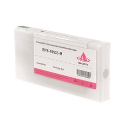 Logic-Seek  Tintenpatrone kompatibel zu Epson Pro 4900 T6533 C13T653300 XL Magenta