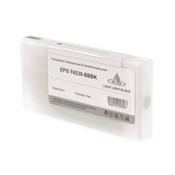 Logic-Seek  Tintenpatrone kompatibel zu Epson Pro 4900 T6539 C13T653900 XL Light Light Schwarz
