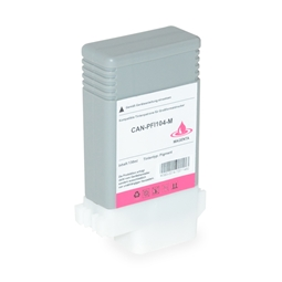Logic-Seek  Tintenpatrone kompatibel zu Canon PFI-104M 3631B001 XL Magenta