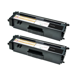 Logic-Seek 2 Toner kompatibel zu Brother TN-328BK HC Schwarz