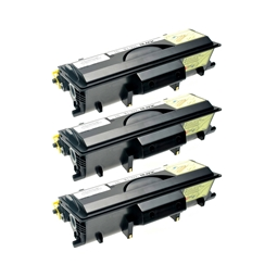 Logic-Seek 3 Toner kompatibel zu Brother TN-5500 HC Schwarz