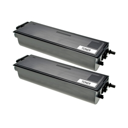 Logic-Seek 2 Toner kompatibel zu Brother TN-6300 HC Schwarz