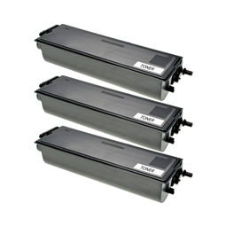 Logic-Seek 3 Toner kompatibel zu Brother TN-6300 HC Schwarz