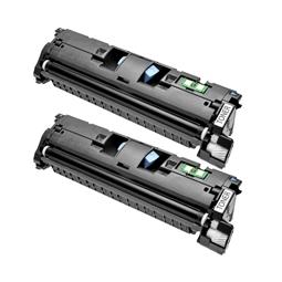 Logic-Seek 2 Toner kompatibel zu Canon Cartridge 701BK 9287A003 HC Schwarz