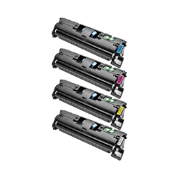 Logic-Seek 4 Toner kompatibel zu Canon Cartridge 701 HC