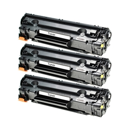 Logic-Seek 3 Toner kompatibel zu Canon Cartridge 712 XXL 1870B002 HC Schwarz