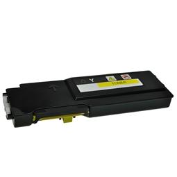 Logic-Seek  Toner kompatibel zu Dell C2660 XL YR3W3 593-BBBR HC Yellow