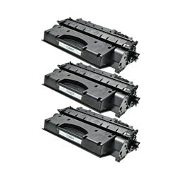Logic-Seek 3 Toner kompatibel zu Canon Cartridge 719 3479B002 HC Schwarz