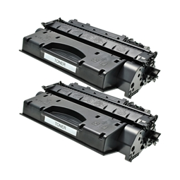 Logic-Seek 2 Toner kompatibel zu Canon Cartridge 720 2617B002 HC Schwarz