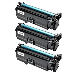 Logic-Seek 3 Toner kompatibel zu Canon Cartridge 723BK 2644B002 HC Schwarz
