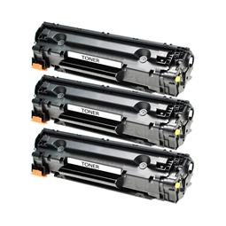 Logic-Seek 3 Toner kompatibel zu Canon Cartridge 726 3483B002 HC Schwarz