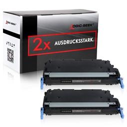 Logic-Seek 2 Toner kompatibel zu Canon C-EXV26 1660B006 HC Schwarz