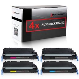Logic-Seek 4 Toner kompatibel zu Canon C-EXV26 HC