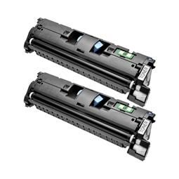 Logic-Seek 2 Toner kompatibel zu Canon EP-87BK 7433A003 HC Schwarz