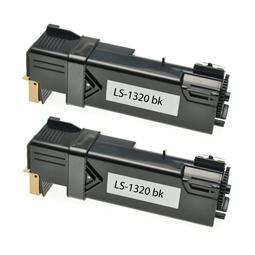 Logic-Seek 2 Toner kompatibel zu Dell 1320 DT615 593-10258 HC Schwarz