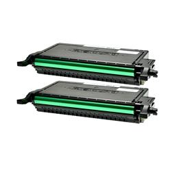 Logic-Seek 2 Toner kompatibel zu Dell 2145 R717J 593-10368 HC Schwarz