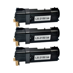 Logic-Seek 3 Toner kompatibel zu Dell 2150 MY5TJ 593-11040 HC Schwarz