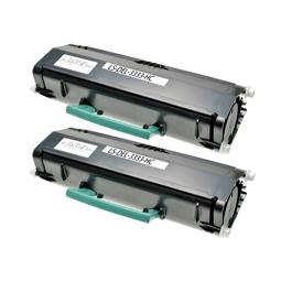 Logic-Seek 2 Toner kompatibel zu Dell 3333 XL N27GW 593-11053 HC Schwarz