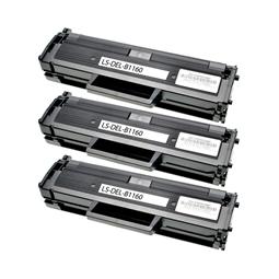 Logic-Seek 3 Toner kompatibel zu Dell B1160 HF44N 593-11108 HC Schwarz