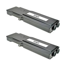 Logic-Seek 2 Toner kompatibel zu Dell C3760 4CHT7 593-11119 UHC Schwarz