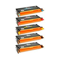 Logic-Seek 5 Toner kompatibel zu Epson C2800 HC