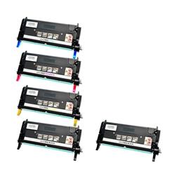 Logic-Seek 5 Toner kompatibel zu Epson C3800 HC