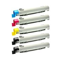 Logic-Seek 5 Toner kompatibel zu Epson C4100 HC