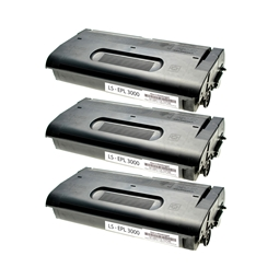 Logic-Seek 3 Toner kompatibel zu Epson EPL-3000 S051020 C13S051020 HC Schwarz