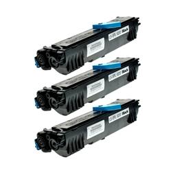 Logic-Seek 3 Toner kompatibel zu Epson EPL-6200 XXL S050166 C13S050166 UHC Schwarz
