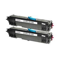 Logic-Seek 2 Toner kompatibel zu Epson M1200 0521 C13S050521 HC Schwarz