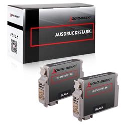 Logic-Seek 2 Toner kompatibel zu Epson M1400 0651 C13S050651 HC Schwarz