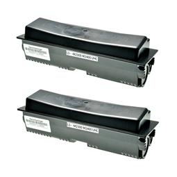 Logic-Seek 2 Toner kompatibel zu Epson M2300 M2400 XXL 0582 C13S050582 HC Schwarz