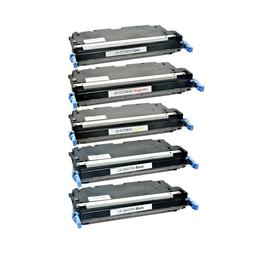 Logic-Seek 5 Toner kompatibel zu HP Q6470A Q7581A-Q7583A 3800 HC