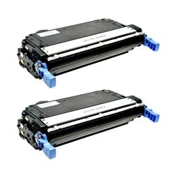 Logic-Seek 2 Toner kompatibel zu HP 4700 643A Q5950A HC Schwarz