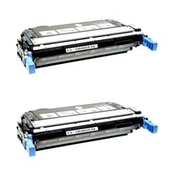 Logic-Seek 2 Toner kompatibel zu HP 4730 644A Q6460A HC Schwarz