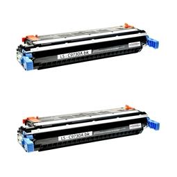 Logic-Seek 2 Toner kompatibel zu HP 5500 645A C9730A HC Schwarz