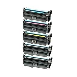 Logic-Seek 5 Toner kompatibel zu HP CE260A CF031A-CF033A HC