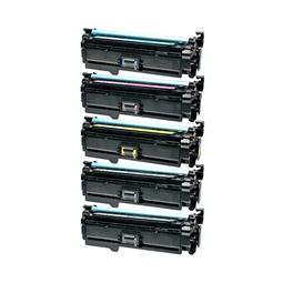 Logic-Seek 5 Toner kompatibel zu HP CE400A-CE403A HC