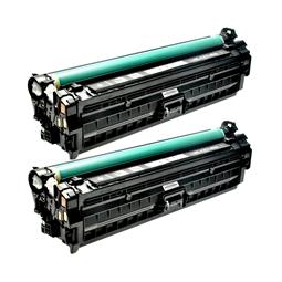 Logic-Seek 2 Toner kompatibel zu HP 307A CE740A HC Schwarz
