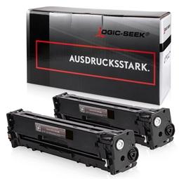 Logic-Seek 2 Toner kompatibel zu HP 131X CF210X HC Schwarz