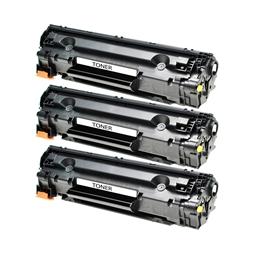 Logic-Seek 3 Toner kompatibel zu HP 78A CE278A HC Schwarz