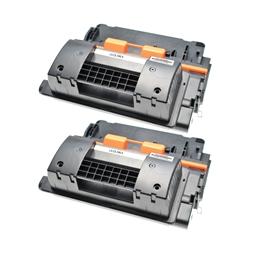 Logic-Seek 2 Toner kompatibel zu HP 90X CE390X HC Schwarz