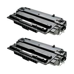 Logic-Seek 2 Toner kompatibel zu HP 14A CF214A HC Schwarz