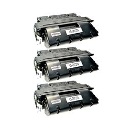 Logic-Seek 3 Toner kompatibel zu HP 27A C4127A HC Schwarz