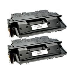 Logic-Seek 2 Toner kompatibel zu HP 61A C8061A HC Schwarz