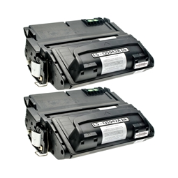 Logic-Seek 2 Toner kompatibel zu HP 42A Q5942A HC Schwarz