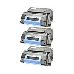 Logic-Seek 3 Toner kompatibel zu HP 45A Q5945A HC Schwarz