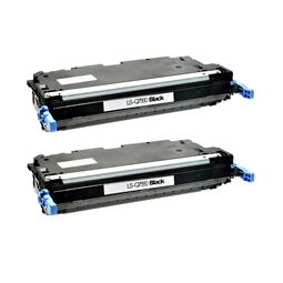 Logic-Seek 2 Toner kompatibel zu HP 3000 314A Q7560A HC Schwarz