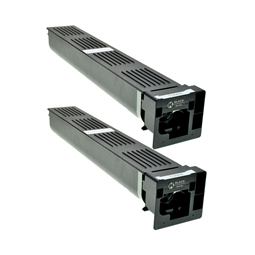 Logic-Seek 2 Toner kompatibel zu Konica Bizhub TN-411K A070151 HC Schwarz