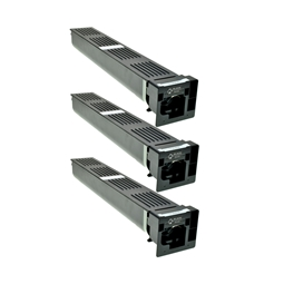 Logic-Seek 3 Toner kompatibel zu Konica Bizhub TN-411K A070151 HC Schwarz